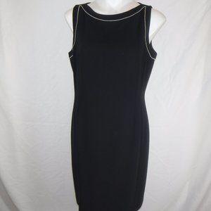 Beautiful Ann Taylor Navy Sheath Dress